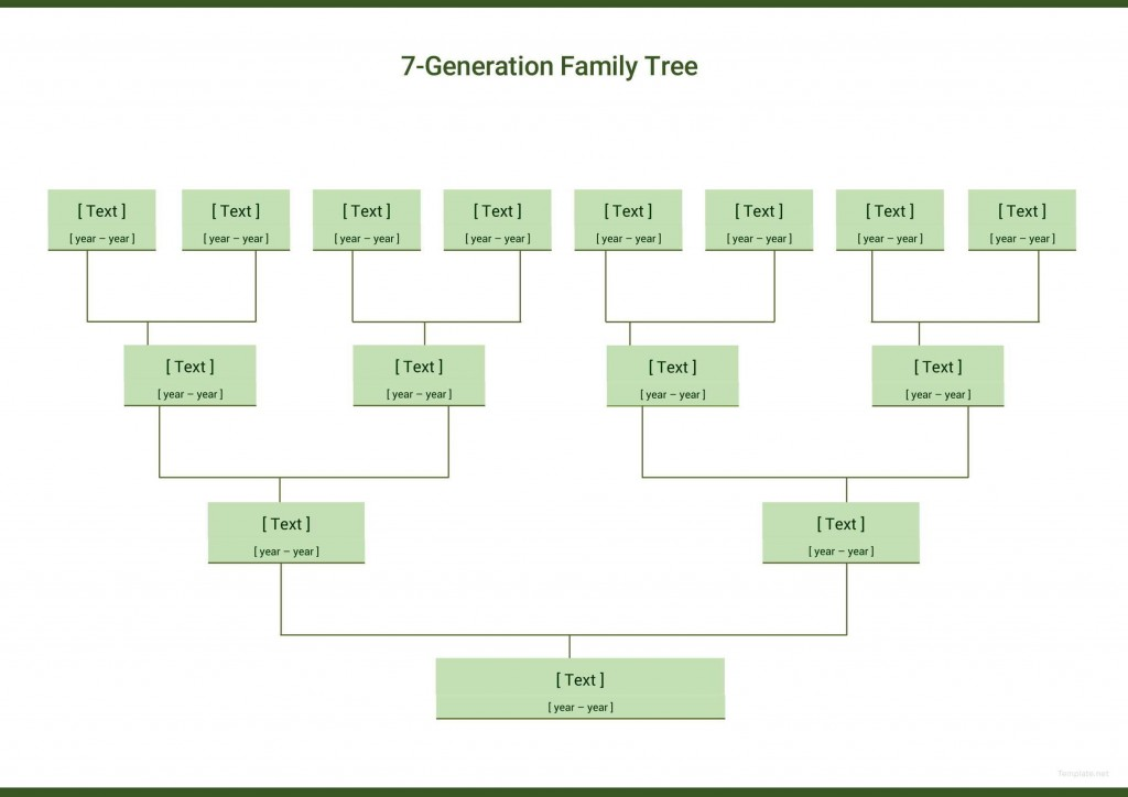 002 Formidable Free Editable Family Tree Template Concept  Templates Pdf Powerpoint With PhotoLarge