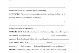 002 Formidable Free Rental Agreement Template Word Highest Quality  South Africa House Lease Doc