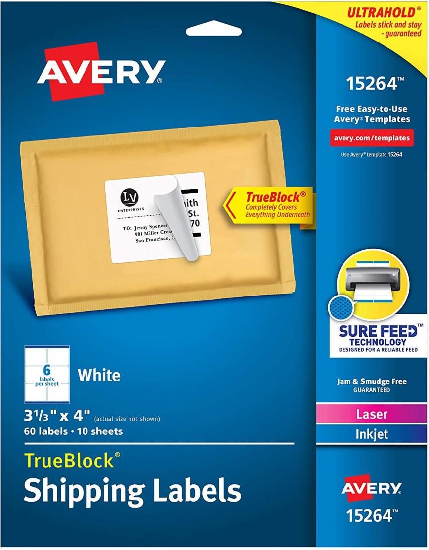 002 Formidable Free Return Addres Label Template 60 Per Sheet Design 868
