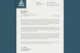 002 Formidable Letterhead Template Free Download Cdr Sample