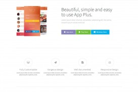 002 Formidable Lifetracker Free Responsive Bootstrap App Landing Page Template High Def