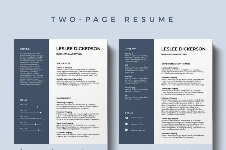 002 Formidable Modern Cv Template Word Free Download 2019 Highest Quality 728