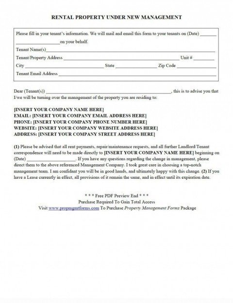 002 Formidable Property Management Contract Form Highest Clarity  Agreement Template Ontario480