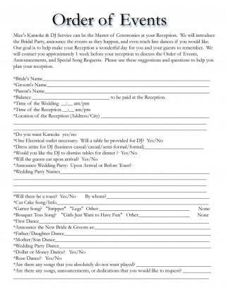 002 Formidable Wedding Timeline Template Free Sample  Day Excel Program320