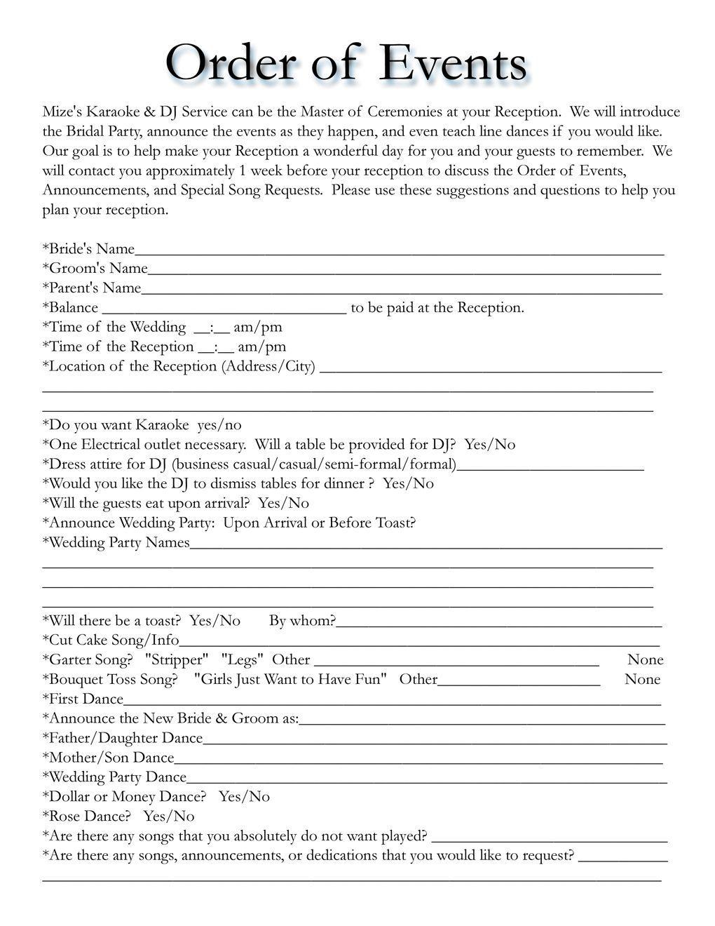 002 Formidable Wedding Timeline Template Free Sample  Day Excel ProgramFull