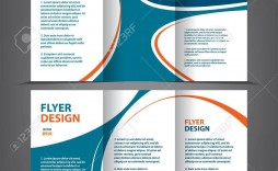 002 Frightening 3 Fold Brochure Template Highest Clarity  Templates For Free