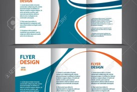 002 Frightening 3 Fold Brochure Template Highest Clarity  For Free