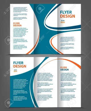 002 Frightening 3 Fold Brochure Template Highest Clarity  For Free320
