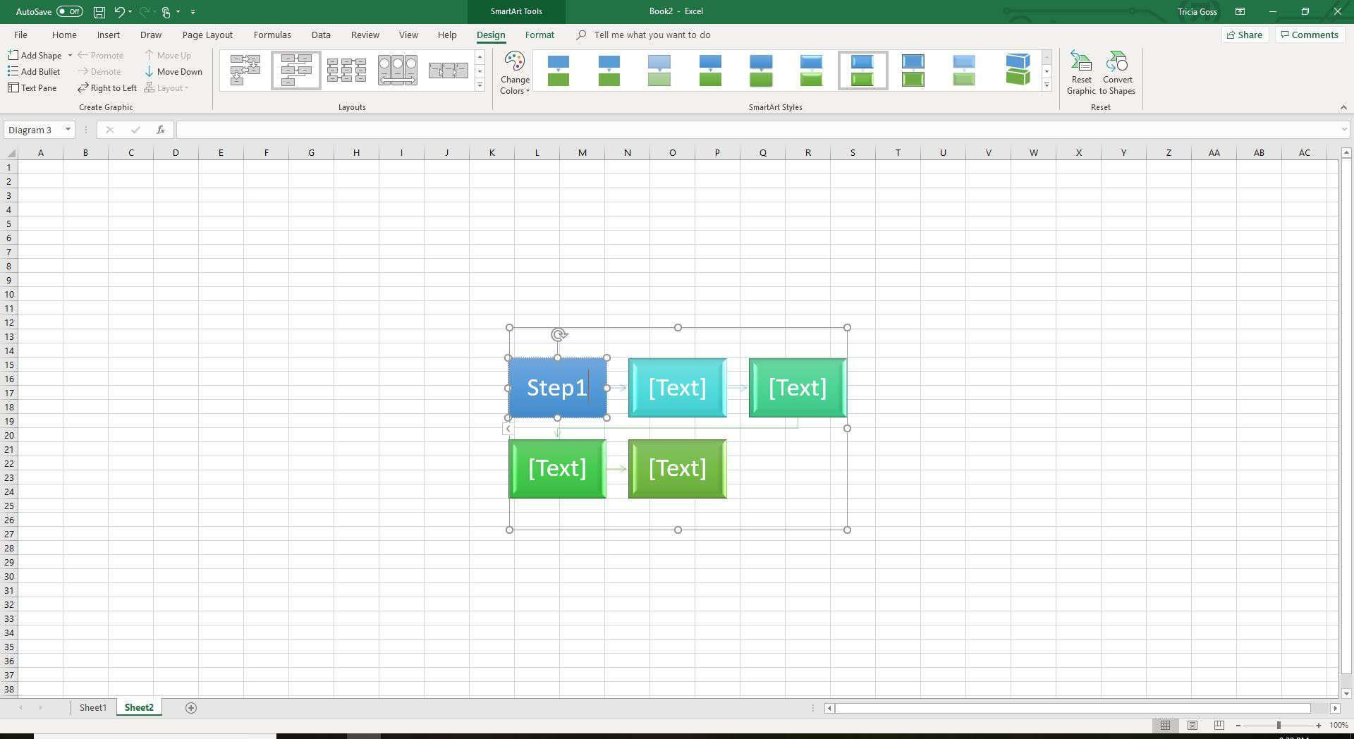 002 Frightening Flow Chart Template Excel 2016 Concept Full