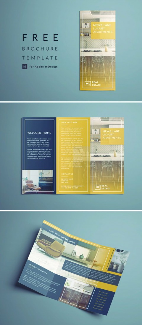 002 Frightening Indesign Tri Fold Brochure Template High Definition  Free Adobe 11x17480