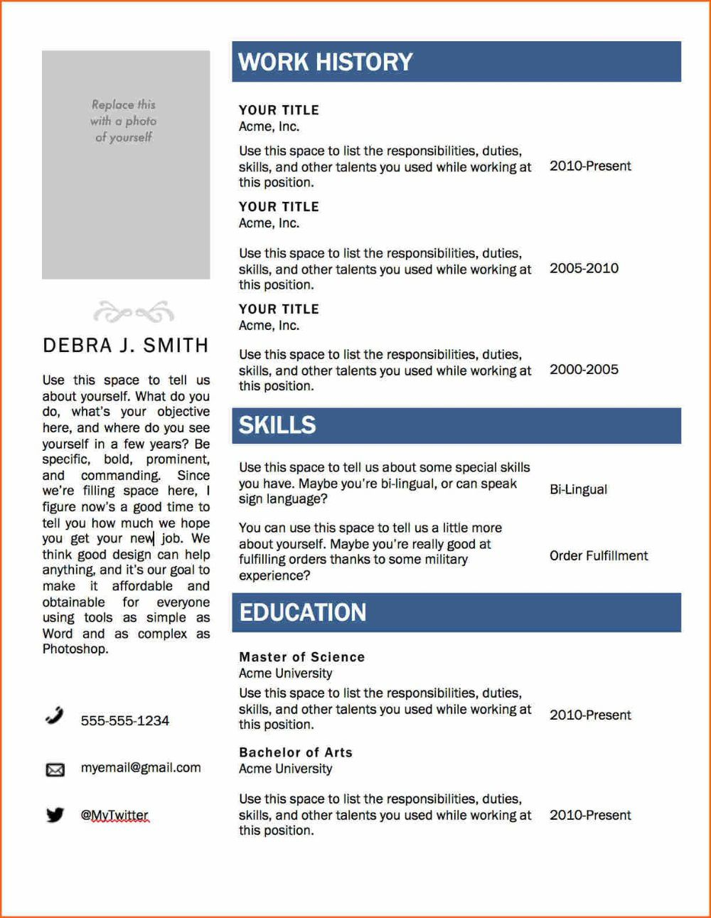002 Frightening M Word 2010 Resume Template Idea  Templates Office Free Microsoft DownloadFull