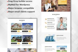 002 Frightening Real Estate Newsletter Template Design  Free Mailchimp