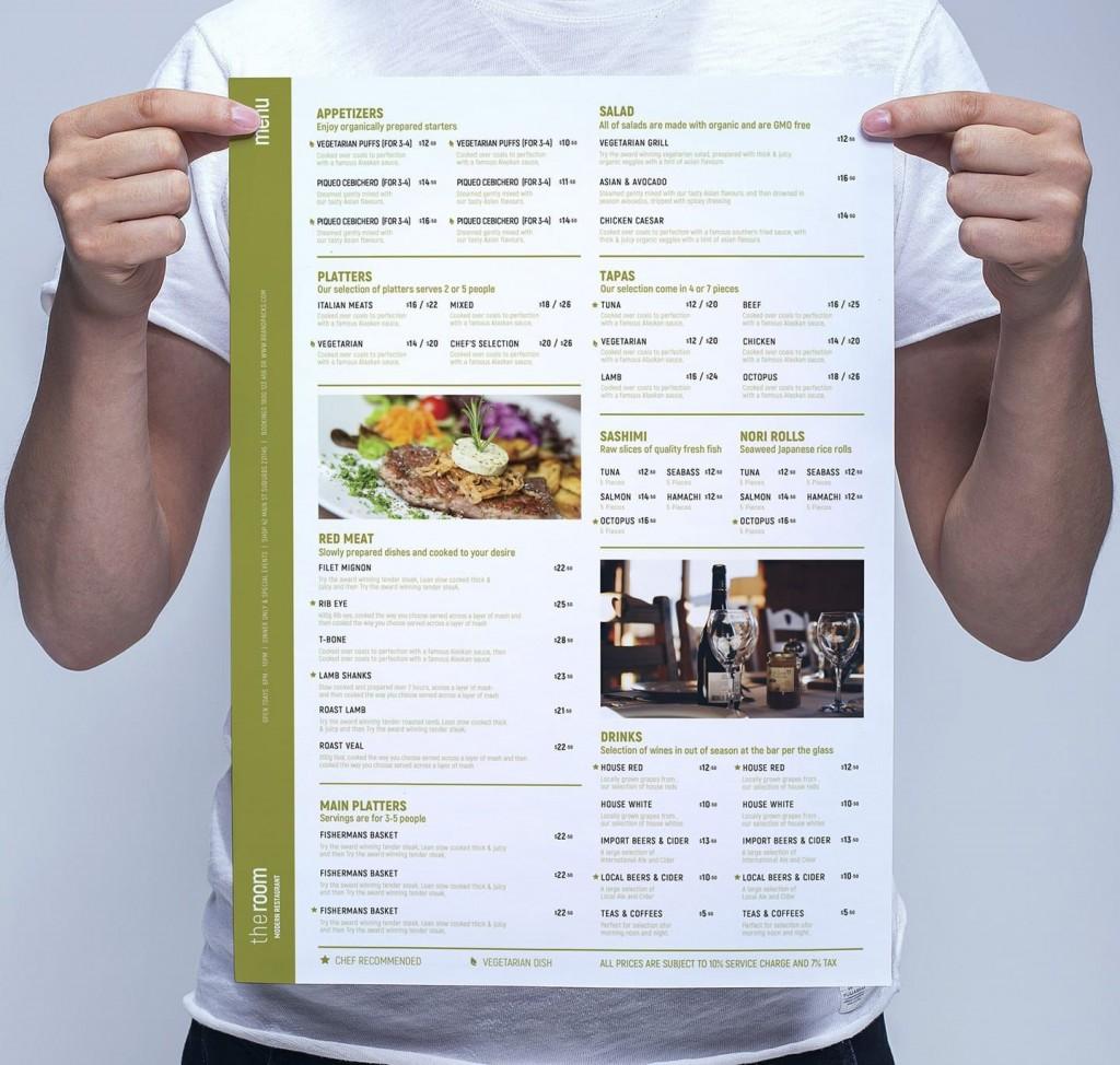 002 Frightening Restaurant Menu Template Free Photo  Card Download Indesign WordLarge