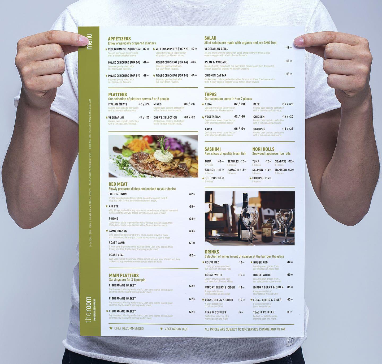 002 Frightening Restaurant Menu Template Free Photo  Card Download Indesign WordFull
