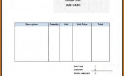 002 Frightening Self Employed Invoice Template Uk Pdf Highest Quality