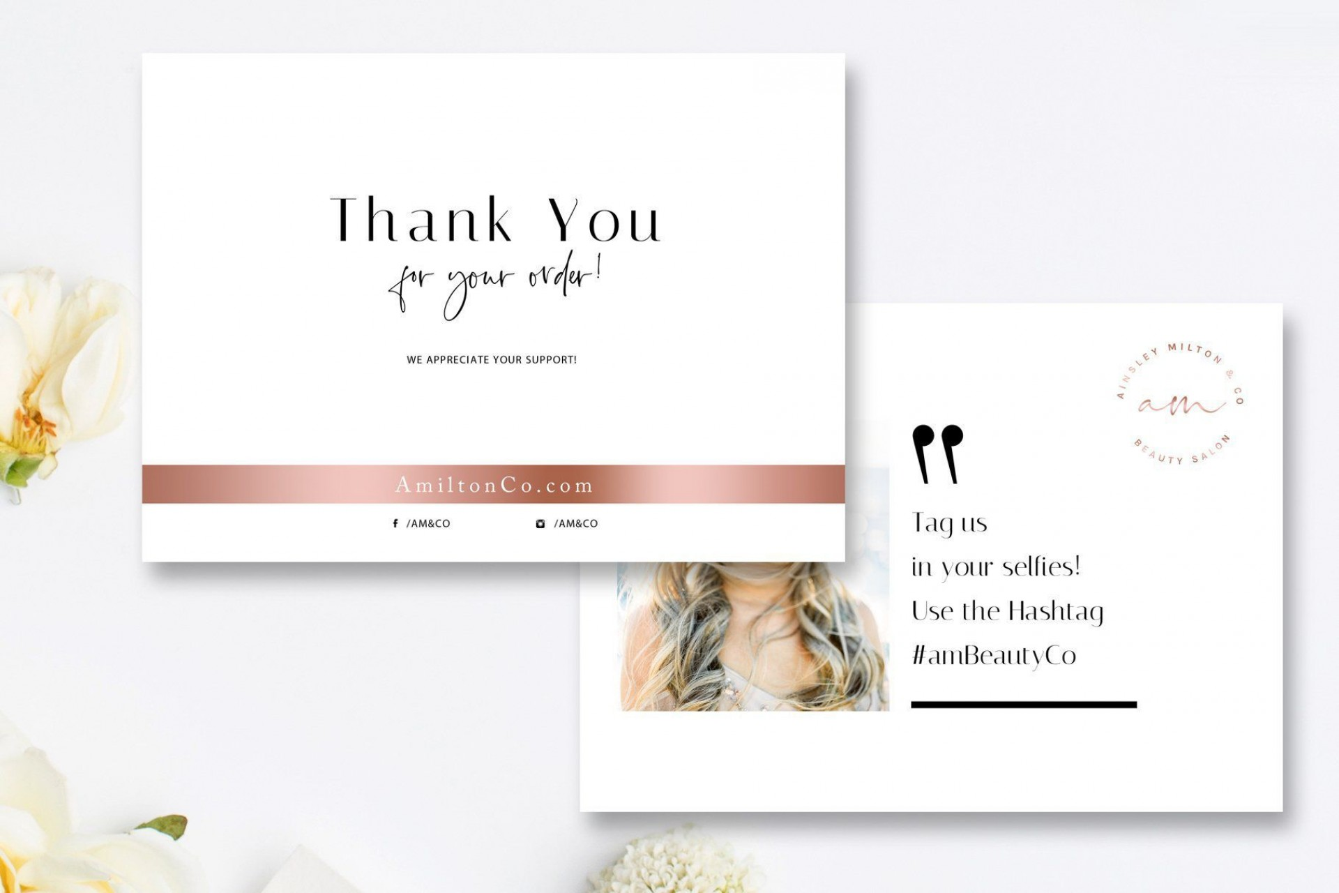 002 Frightening Wedding Thank You Card Template Psd Design  Free1920