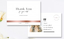 002 Frightening Wedding Thank You Card Template Psd Design  Free
