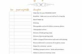 002 Frightening Wedding Timeline For Guest Template Free Design  Download