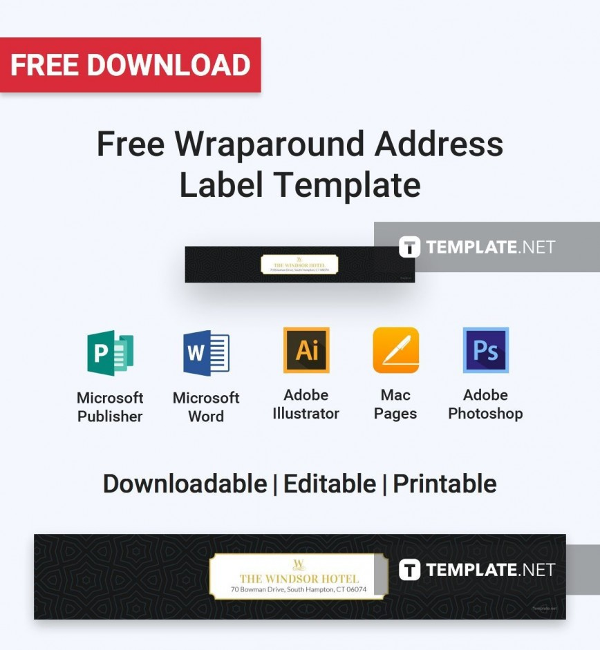 002 Imposing Addres Label Template For Mac Page Design  Return Avery 5160868