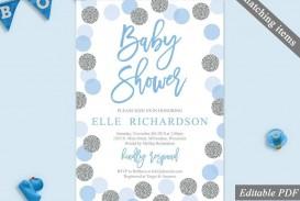 002 Imposing Baby Shower Invitation Template Microsoft Word Sample  Free Editable