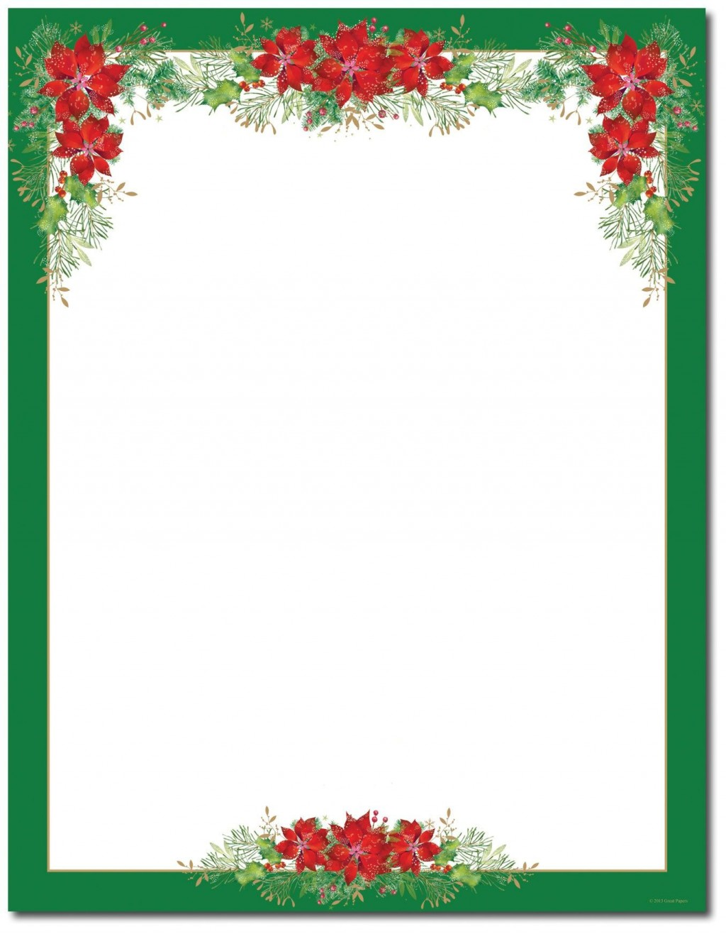 002 Imposing Christma Stationery Template Word Free Design  Religiou For DownloadableLarge
