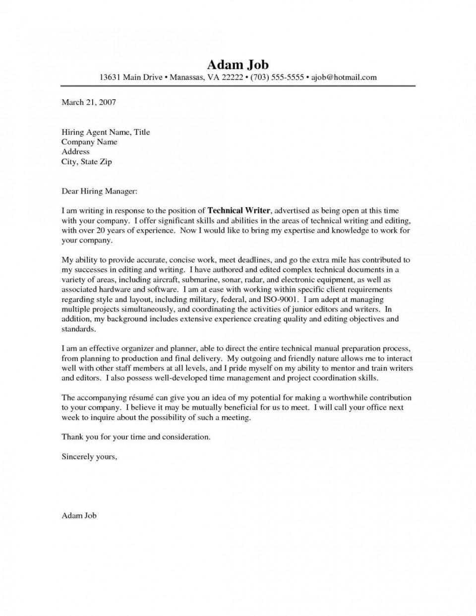 002 Imposing Cover Letter Writing Sample Photo  Example For Content Job Resume960