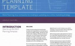 002 Imposing Digital Marketing Busines Plan Example Picture  Template Free Sample Pdf
