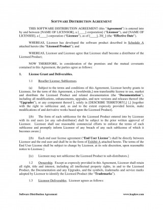 002 Imposing Exclusive Distribution Agreement Template Word Inspiration  Format320