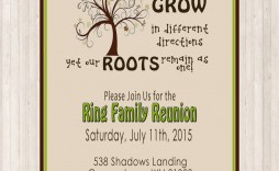 002 Imposing Family Reunion Invitation Template Free Highest Clarity  For Word Online