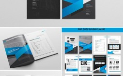 002 Imposing Free Annual Report Template Indesign Example  Download Adobe