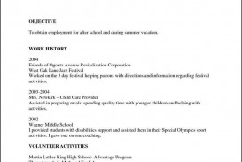 002 Imposing Free Chronological Resume Template Example  2020 Cv