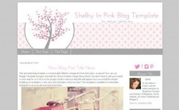 002 Imposing Free Cute Blogger Template Highest Clarity  Templates