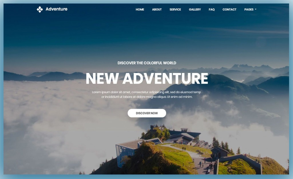 002 Imposing Free Website Template Download Html And Cs Jquery Bootstrap Example Large