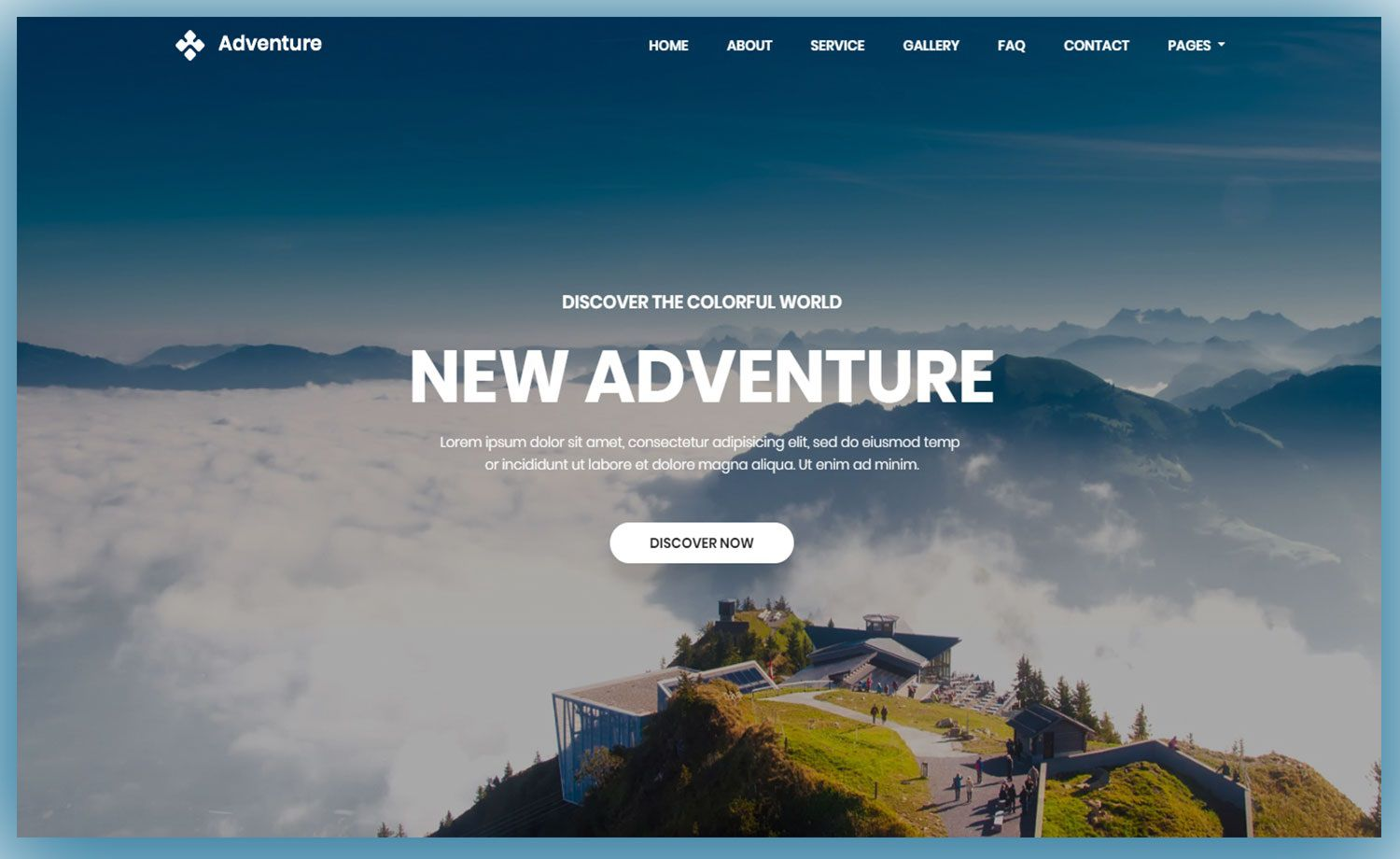 002 Imposing Free Website Template Download Html And Cs Jquery Bootstrap Example Full