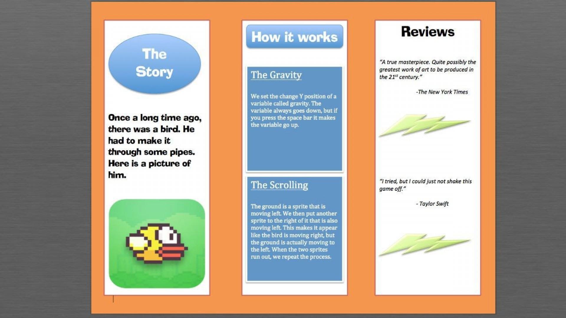 002 Imposing Microsoft Word Brochure Format High Definition  2007 Flyer Template 3 Fold1920