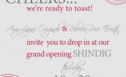 002 Imposing Open House Invitation Template Sample  Templates Free Printable Busines