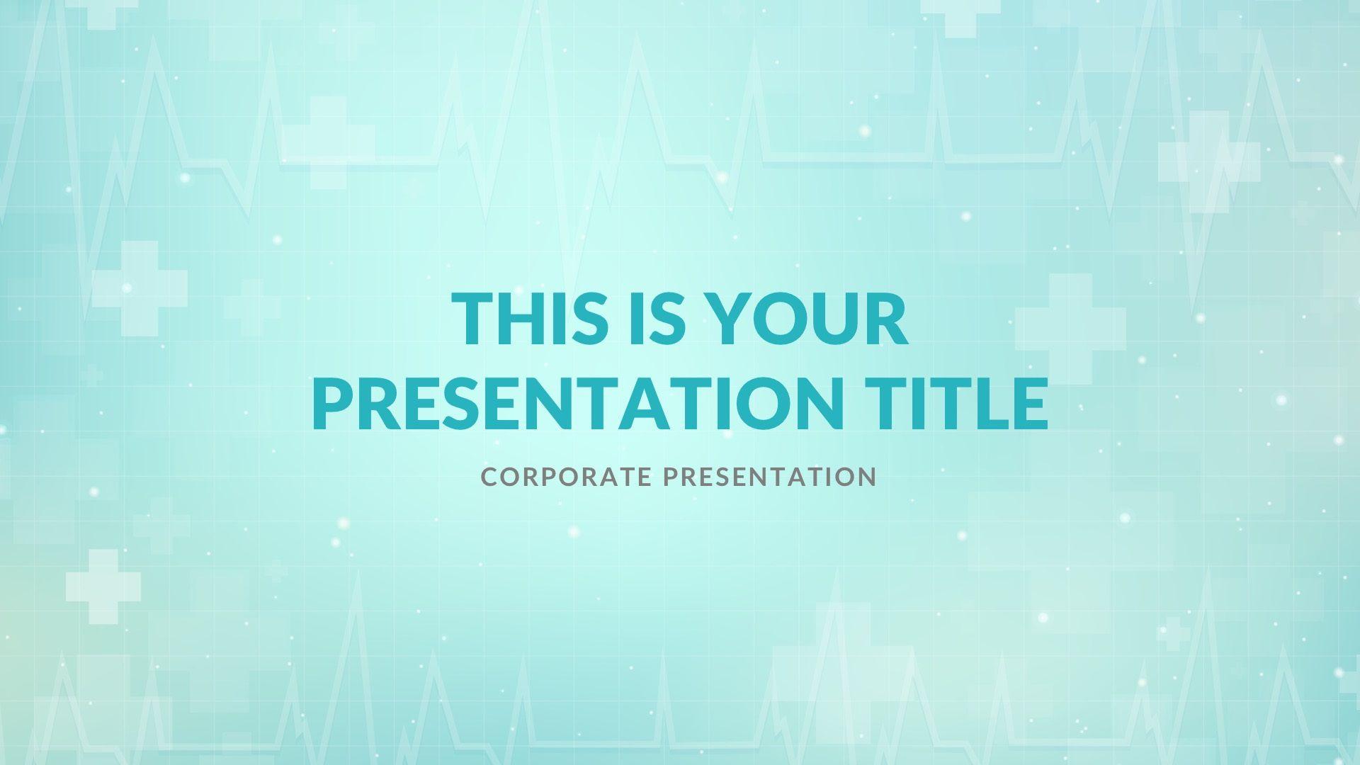 002 Imposing Powerpoint Presentation Template Free Download Medical Photo  AnimatedFull