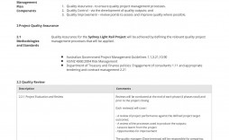 002 Imposing Project Quality Management Plan Template Pdf Concept  Sample