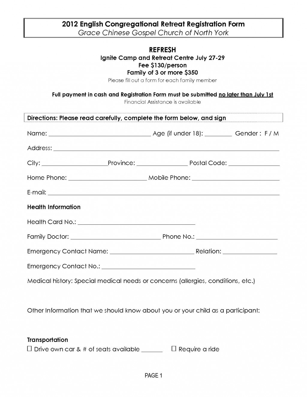 002 Imposing Registration Form Template Free Concept  Printable Event SampleLarge