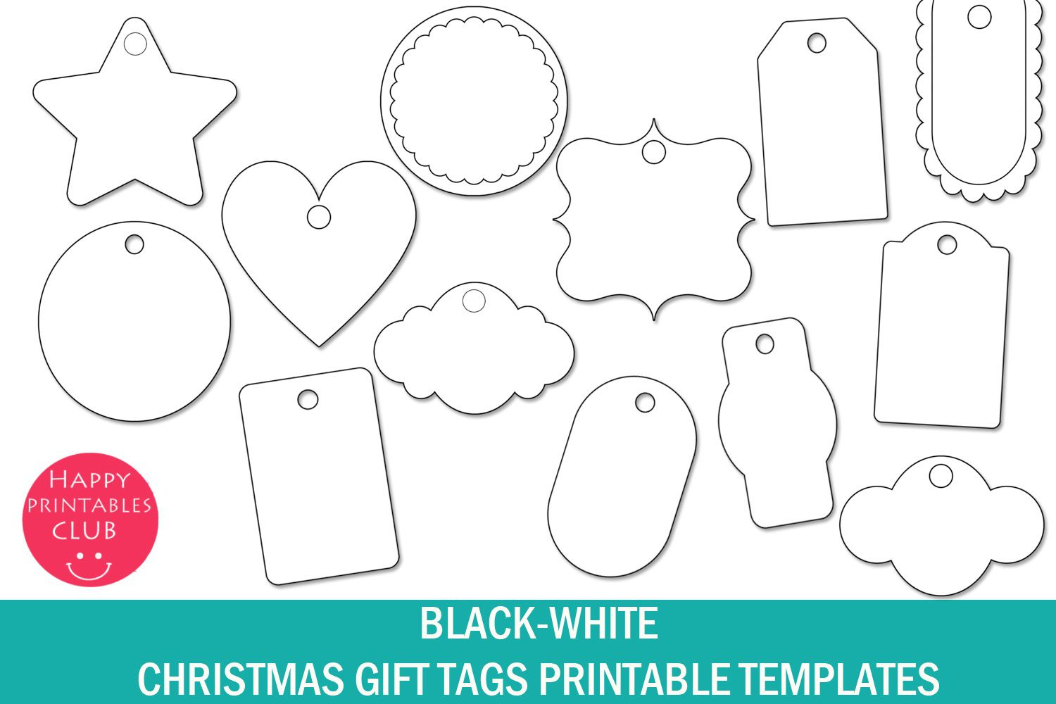 002 Imposing Template For Gift Tag Sample  Tags Blank AveryFull