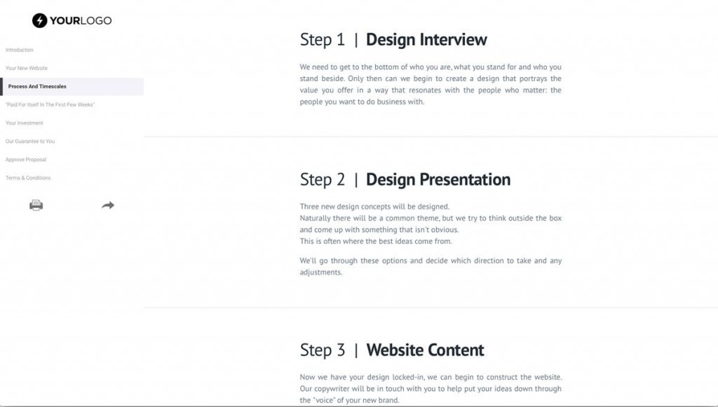 002 Imposing Website Design Proposal Template Highest Quality  Web Pdf RedesignLarge