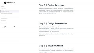 002 Imposing Website Design Proposal Template Highest Quality  Web Pdf Redesign320