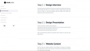 002 Imposing Website Design Proposal Template Highest Quality  Web Pdf Redesign360