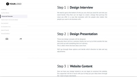 002 Imposing Website Design Proposal Template Highest Quality  Web Pdf Redesign480