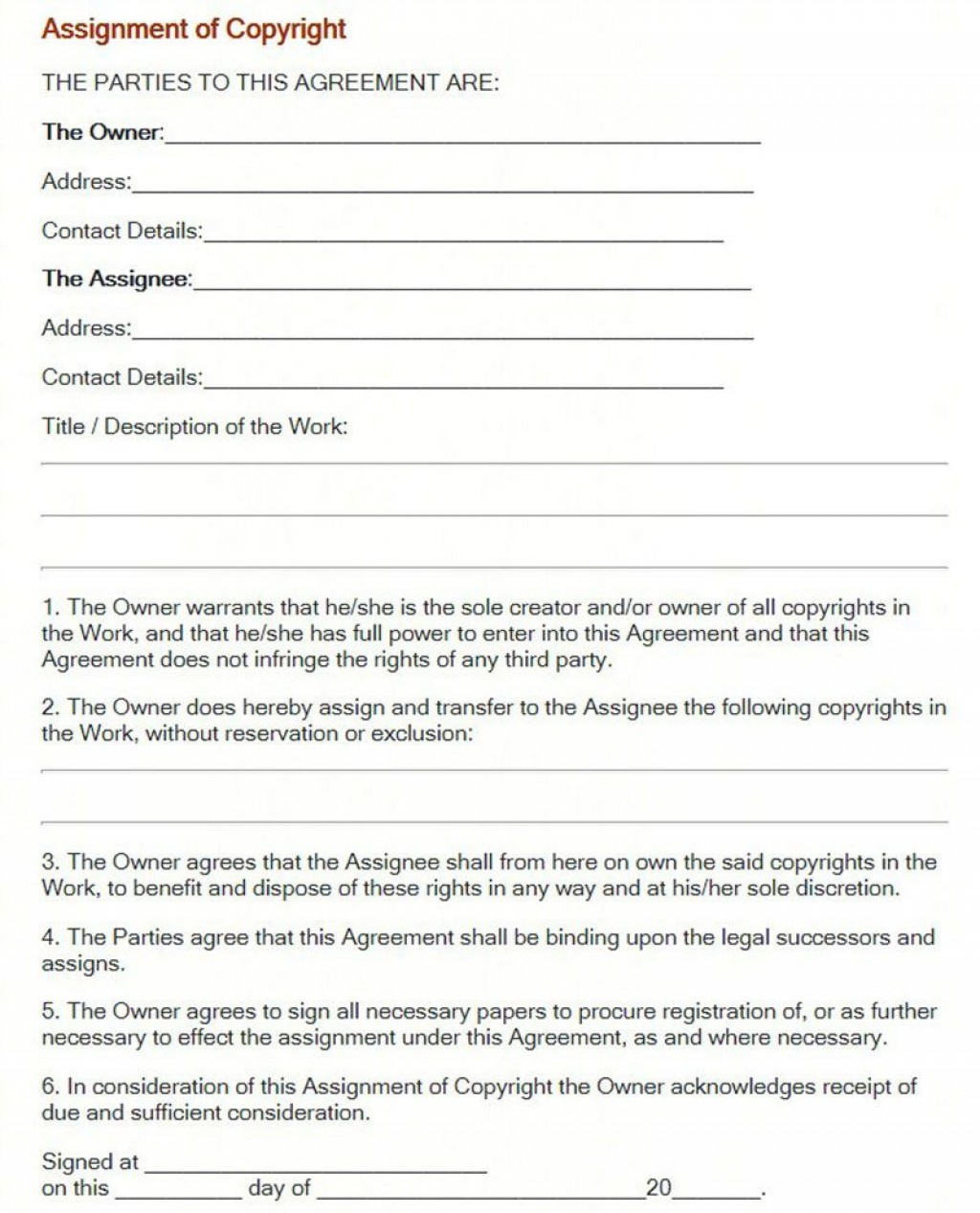 002 Imposing Wedding Photographer Contract Template Free Design  Simple Photography WordLarge