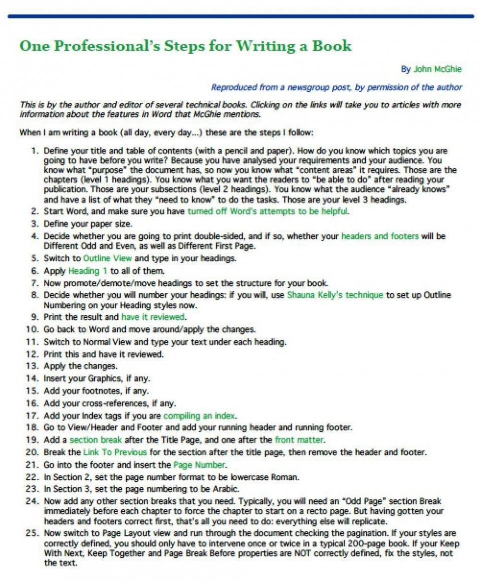 002 Imposing Writing A Novel Outline Template Concept  Sample960