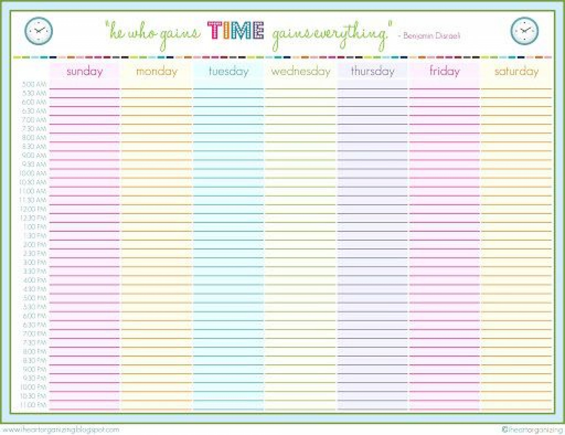 002 Impressive 24 Hour Schedule Template High Def  7 Day Work Calendar Word1920