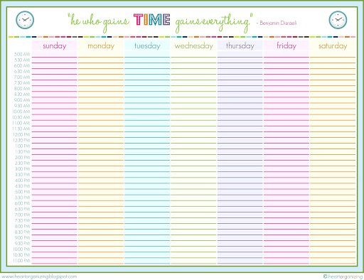 002 Impressive 24 Hour Schedule Template High Def  7 Day Work Calendar WordFull