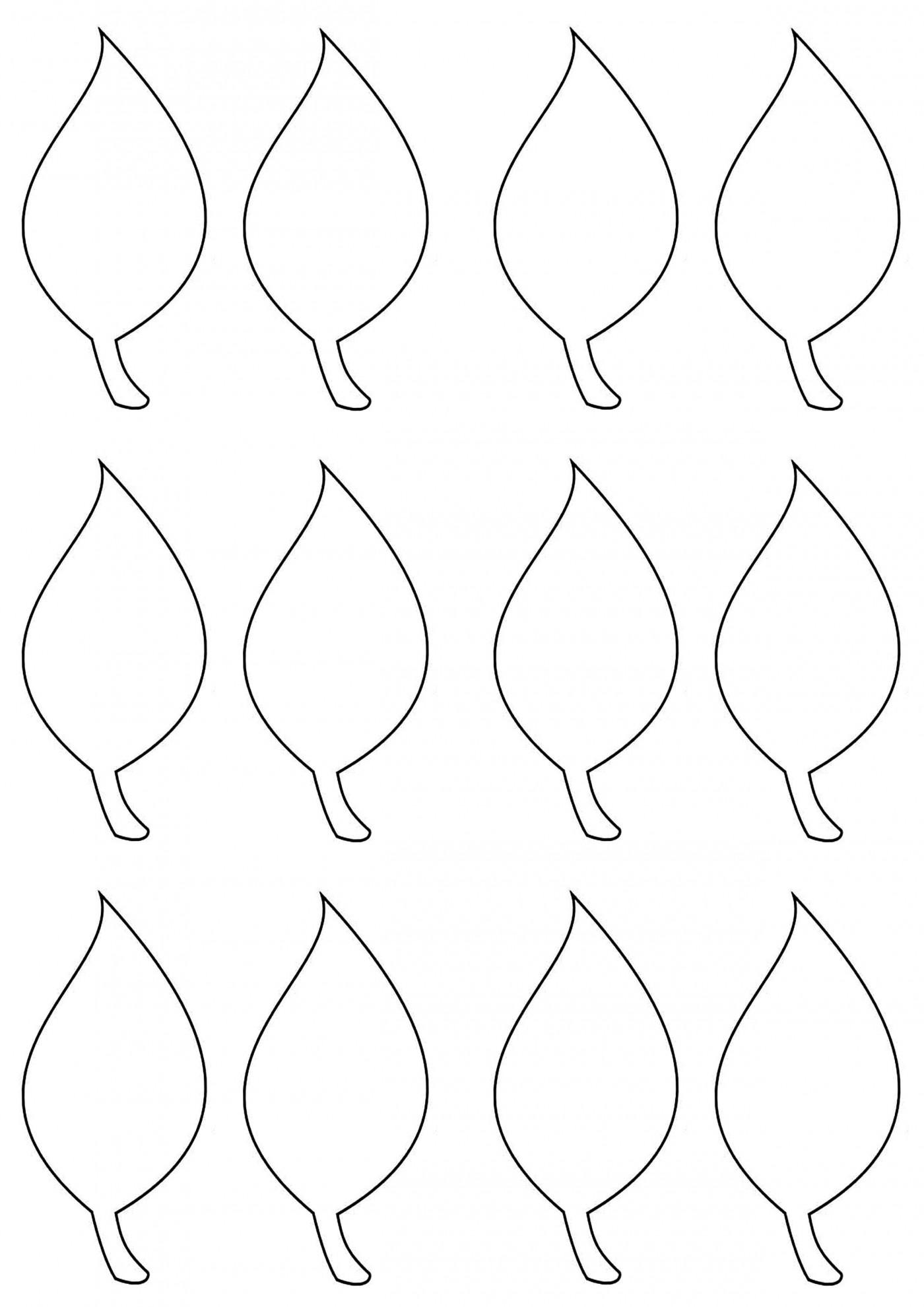 002 Impressive Blank Leaf Template With Line Image  Printable1400