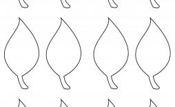 002 Impressive Blank Leaf Template With Line Image  Lines Printable